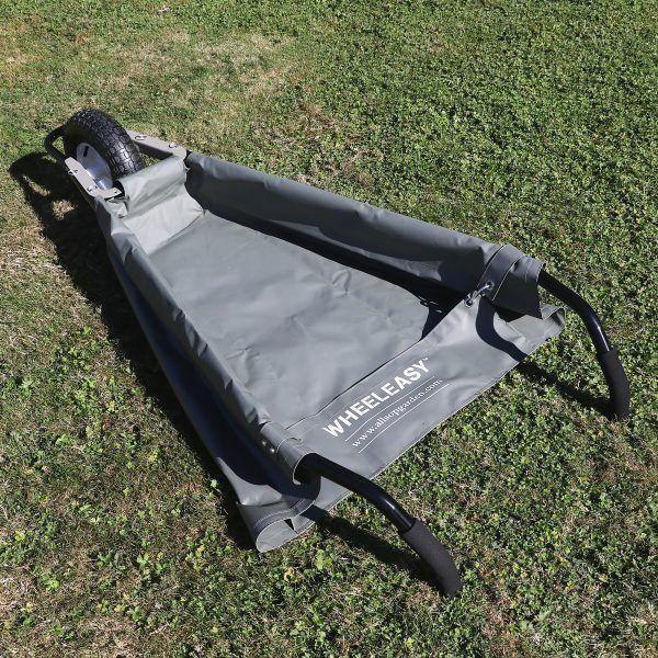 Wheeleasy Foldable Garden Cart, Allsop Home And Garden Wheeleasy