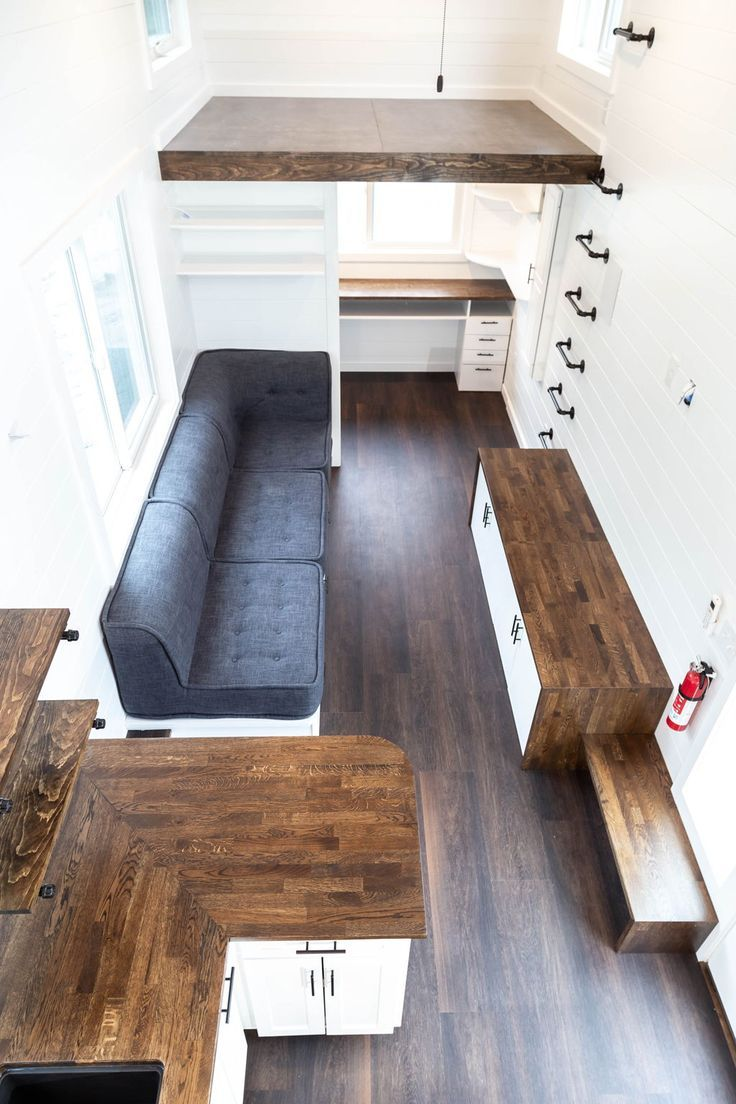 Modern One by Liberation Tiny Homes – #abovecouch …