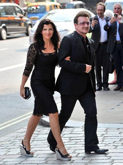 Bono (U2) y su mujer, Ali Hewson #celebrities #people