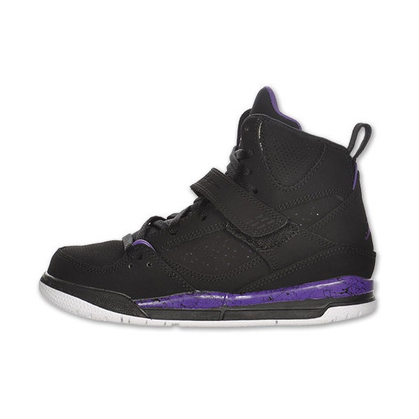 Jordan Flight 45 High Preschool Kids' Basketball Shoes ($40) ❤ liked on  Polyvore