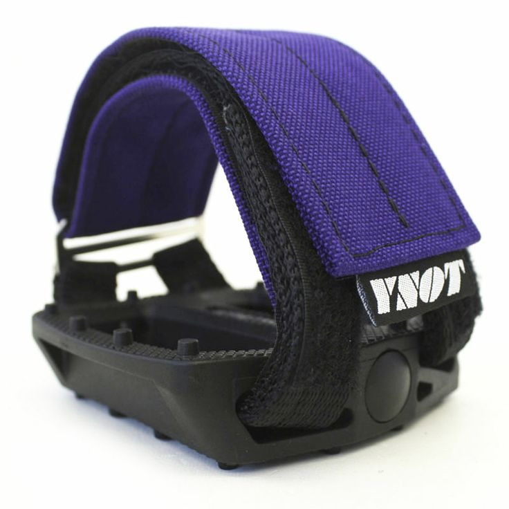 YNOT Cycle | Pedal Straps - Purple