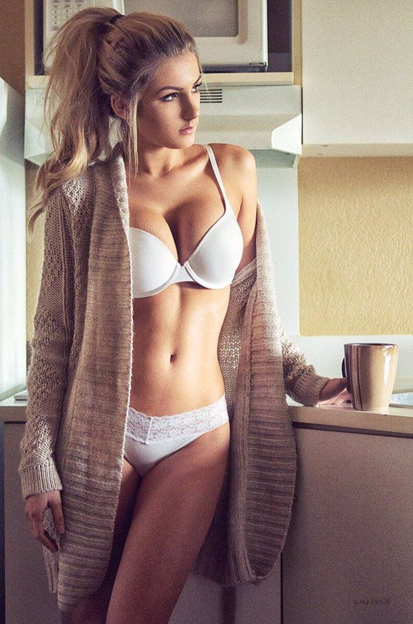 Two beautiful blondes play with a dirty old man 8