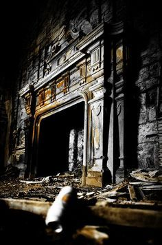The Villages Abandoned And Fireplaces On Pinterest