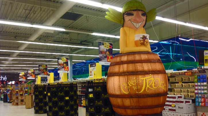 New inflatable project for Cuvee des trolls!