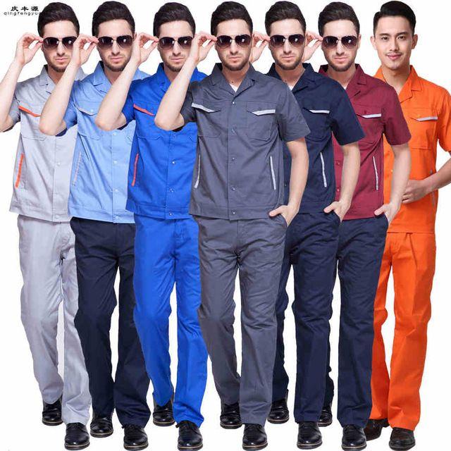engineer worker wear auto service uniform gas station clothes factory work uniform