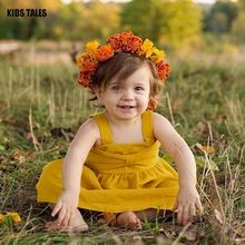 KIDS TALES Dresses for Girls 2017 Girls Dress Without Sleeves Children Summer Dresses for Girls Toddlers Dress Children's Cloth //FREE Shipping Worldwide //