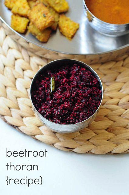 Kerala Beetroot Thoran Recipe | Onam Sadya Recipes