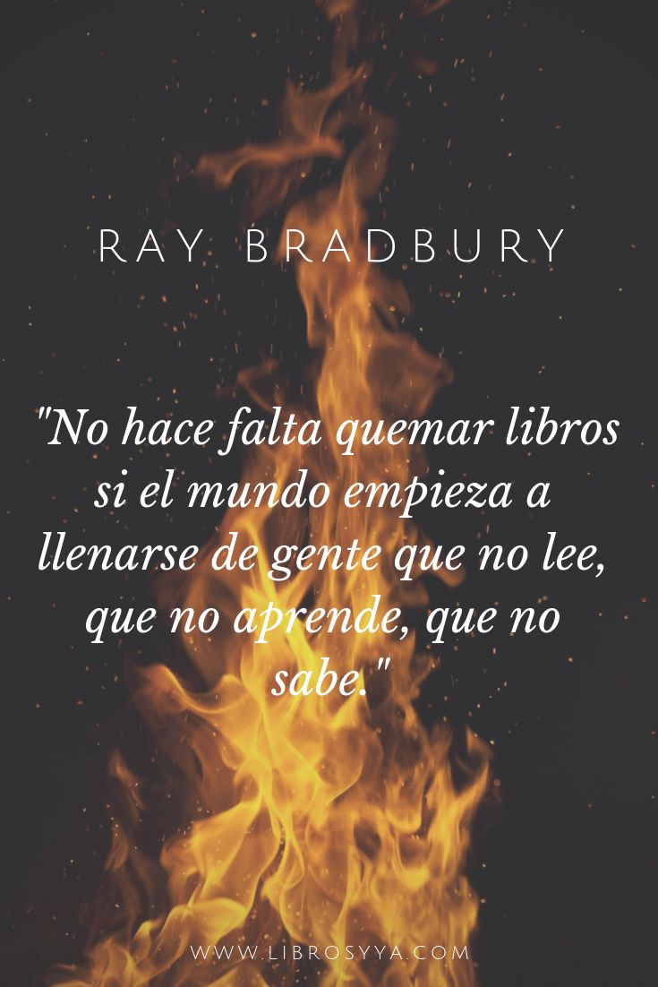El futuro distópico de Ray Bradbury en Fahrenheit 451   Quema de ...