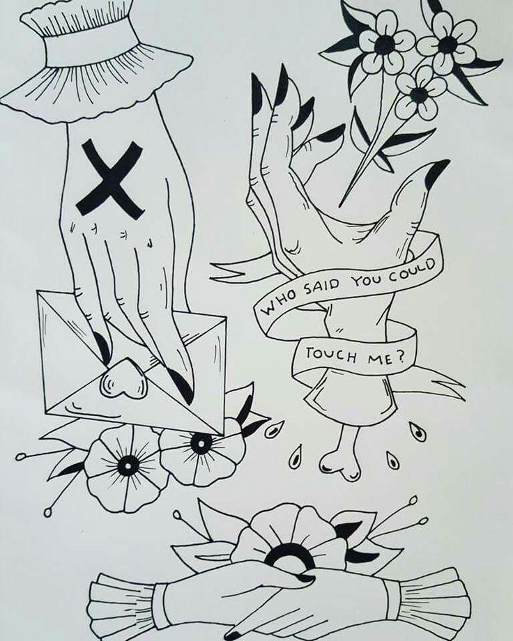 Traditional hand tattoo flash sheet #tattoo #tattoodesign #traditionaltattoo #flashsheet