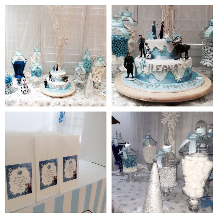 Frozen Theme Lolly Buffet