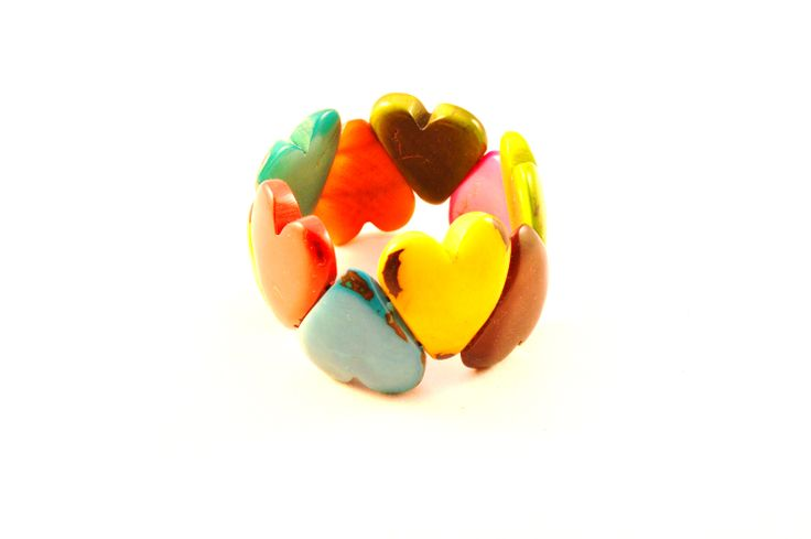 Bold combination for people who love colours like we do! #heart #multicoloured