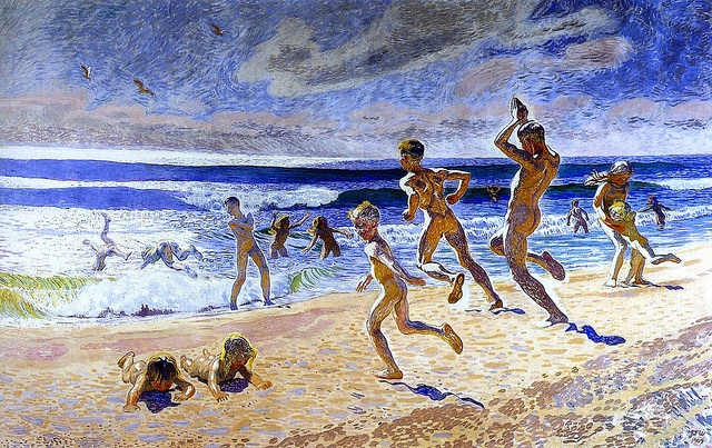 Sun and Youth, Jans Ferdinand (J.F.) Willumsen - 1909 by BoFransson, via Flickr