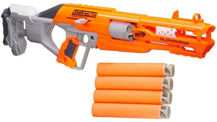 All Nerf Guns: The Ultimate List | Nerf N-Strike Elite Accustrike Alphahawk Blaster