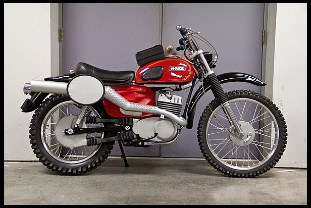 1974 MZ 250 ISDT for sale by Mecum Auction... very obscure and one of the very best enduro bikes ever made!