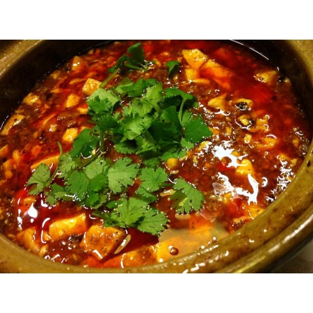 麻婆豆腐‼