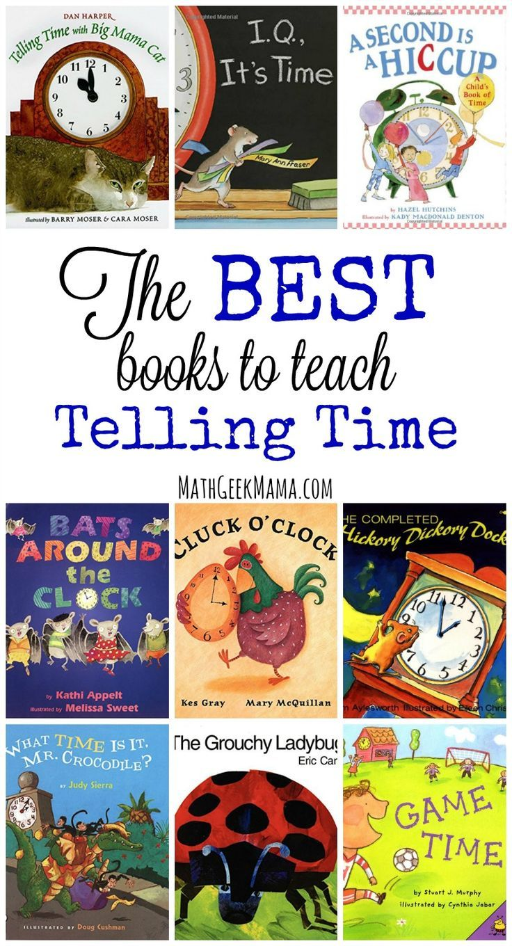 This list is packed with resources to teach time concepts to your kids!