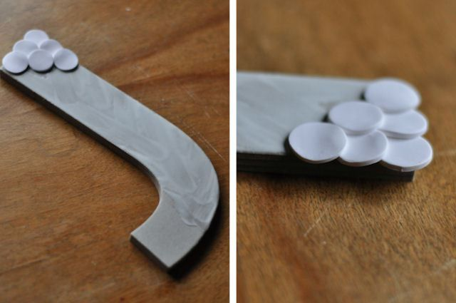 Polymer Clay Letters 4