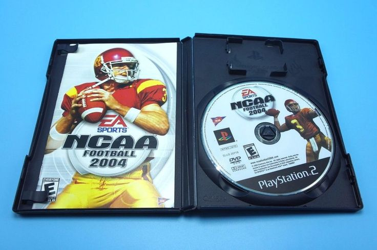 NCAA College Football 2004 (Sony PlayStation 2, 2003) Used Complete PS2