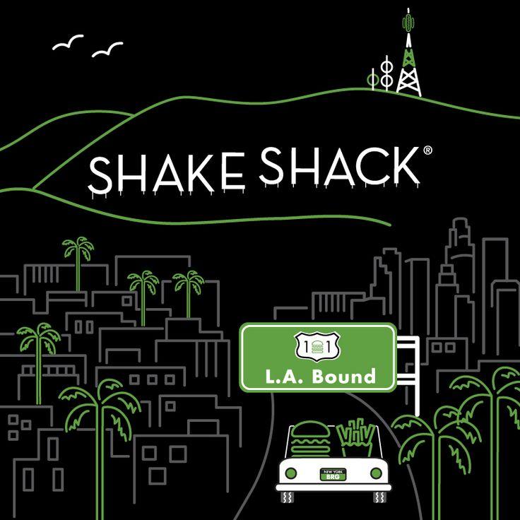 Shake Shack is coming to LA