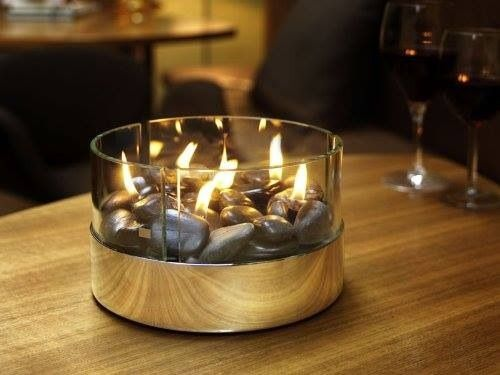 Elegant Outside Tabletop Fire Bowl