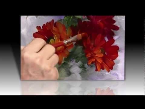 "Oil Paint ""Gerbera Daisies"" 1 of 4 - YouTube"