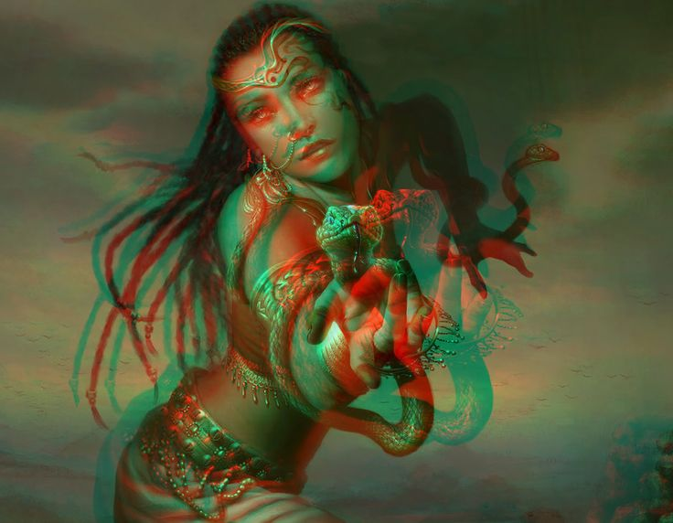 Pin by Anaglyph on fantasy art in 3d anaglyphs | Fantasy ...