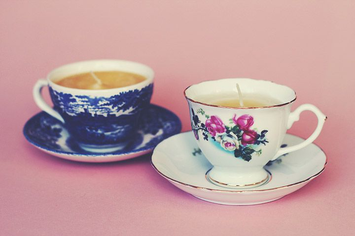 HOW TO: DIY TEACUP CANDLES