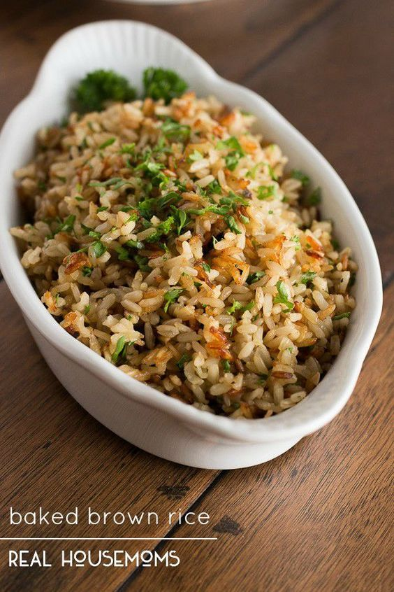 Best 25 brown rice ideas on pinterest rice recipes grains list baked brown rice ccuart Images