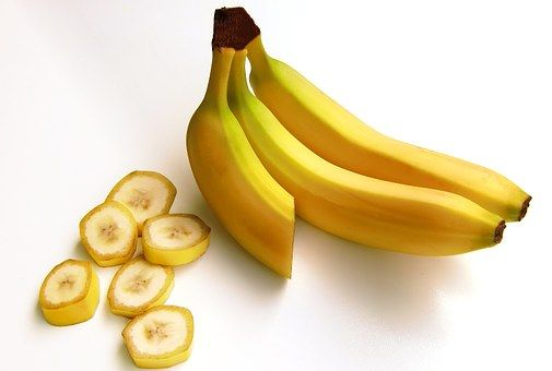 Bananas, Fruit, Carbohydrates