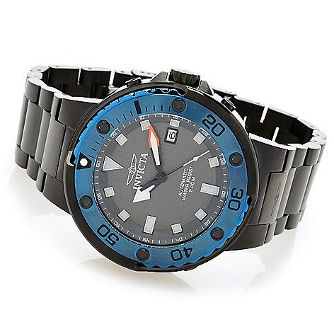 644-135 - Invicta Men's 49mm Grand Scuba Automatic Stainless Steel Bracelet Watch