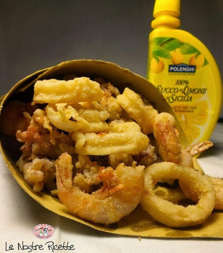Le nostre Ricette: Fritto di calamari e gamberi