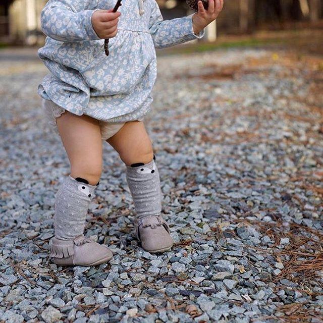 Teeny tiny fox socks 💜 #Netmumsloves 📷: @fresh_delivery  #Regram via @netmums
