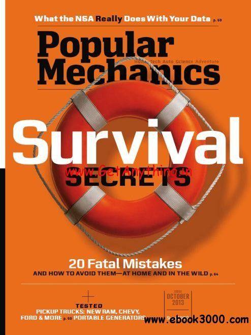 Popular Mechanics USA – October 2013