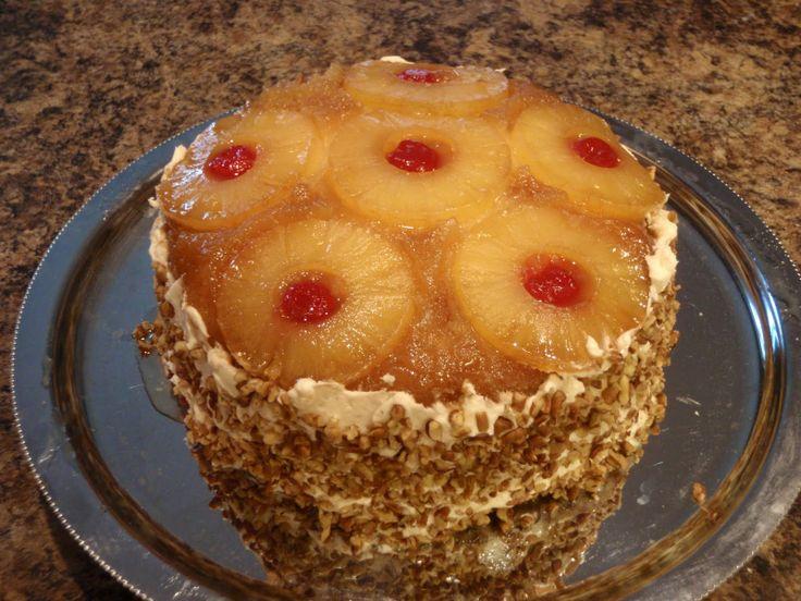 Food Network Paula Deen Pineapple Upside Down Cake