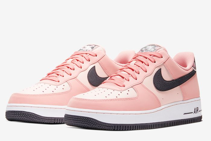 Floral Frenzy With The Nike Air Force 1 Low Pink Quartz Nike Air Force Nike Air Nike