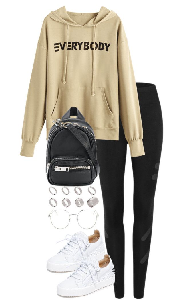 """""""Untitled #4904"""" by theeuropeancloset on Polyvore featuring Alexander Wang, Giuseppe Zanotti, ASOS and Topshop"""