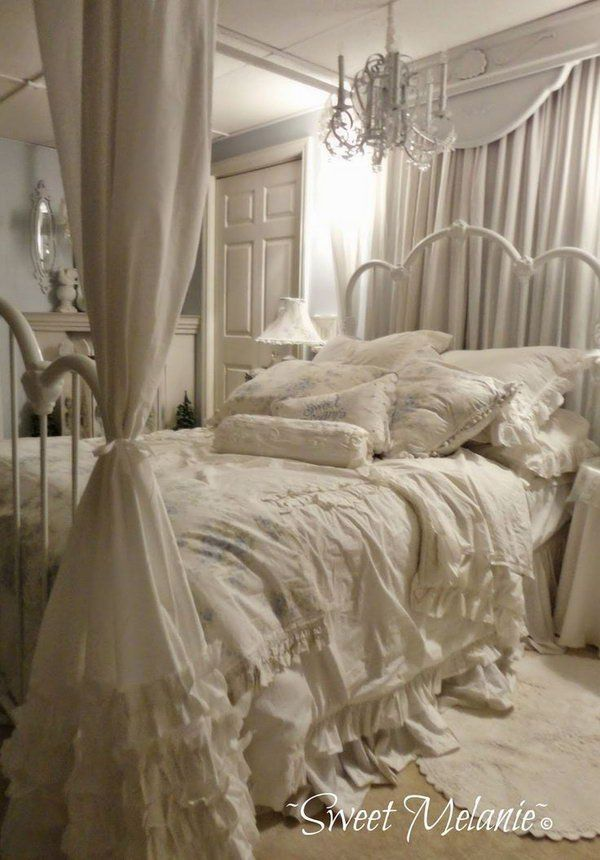 30 Shabby Chic Bedroom Ideas - Decor and Furniture for Shabby Chic Bedroom - Noted List