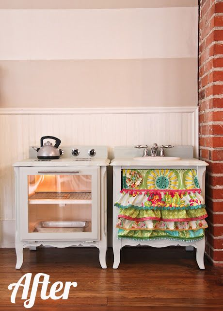 Life as a Thrifter: Wednesday Redo: Play Kitchen