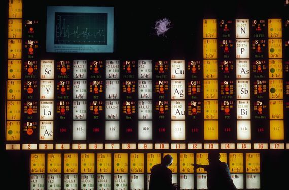 The periodic table just got a little (super)heavier     - CNET  Enlarge Image  This periodic table of elements is due for an update. Photo by                                            Corbis via Getty Images                                          Youre going to have to work a little harder to impress people at the next chemists cocktail party when reciting the periodic table of elements from memory. Four new elements have been named and added to the seventh row.  The International Union…