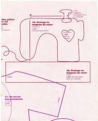 maquina de coser patron aplicacion - Buscar con Google