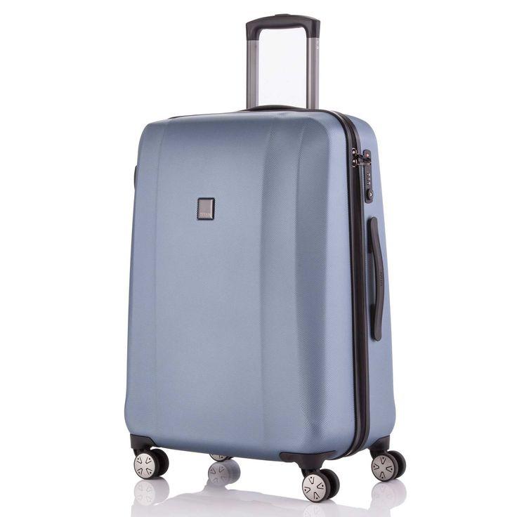 Großer #Koffer TITAN Xenon 2.0 bei Koffermarkt: ✓Farbe bluestone ✓4 Rollen ✓74 x 53 x 31 cm ✓Hartschale ✓Business-Trolley