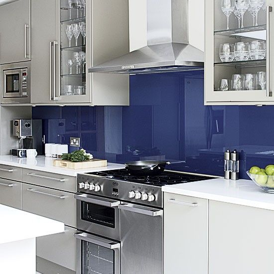 Blue Kitchen Cabinets Units: 1000+ Ideas About Blue Grey Kitchens On Pinterest