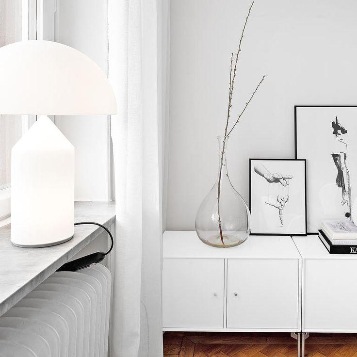 Köp bordslampan Atollo från Oluce på Olsson & Gerthel