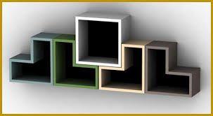 Résultats de recherche d'images pour «wall-mounted bookshelves»