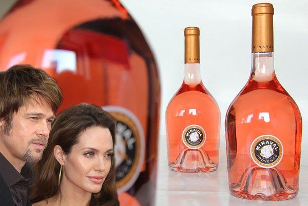 miraval wine | Brad Pitt en Angelina Jolie Rosé 2013 Château Miraval