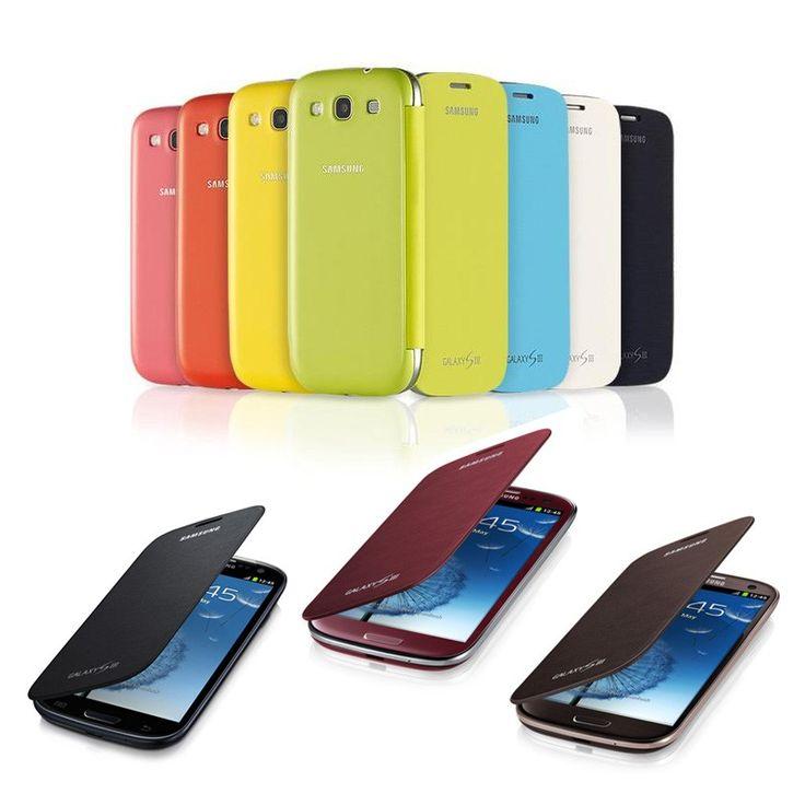 Samsung Galaxy SIII Flip Cover, Etui z klapką do GALAXY S3