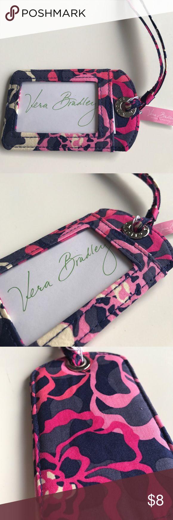 NWT Vera Bradley Luggage Tag 💜 NWT Vera Bradley Luggage Tag in Paisley in Katalina Pink. Vera Bradley Bags Travel Bags