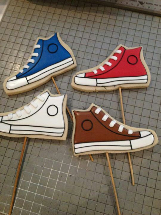 143 Best Images About Shoe Cookies Cakes Ideas On