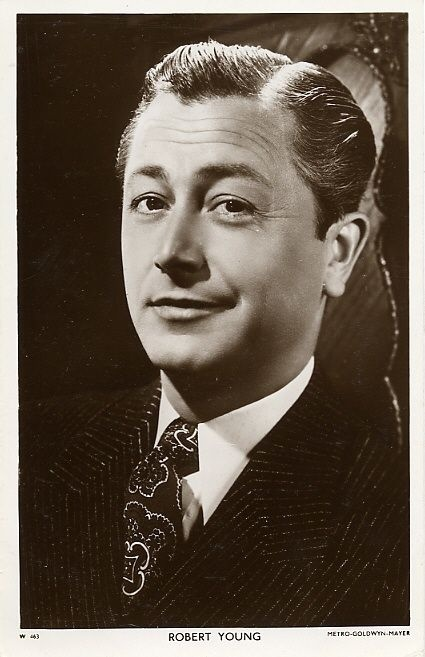 Robert Young: Amazing how much my dad looked like Robert Young. My father was so handsome. Boy, I miss him so much.