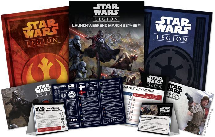 Fantasy Flight Games Announce 'Star Wars: Legion' Launch Events March 22nd-25th